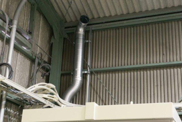 工場内の空調のヒミツ
